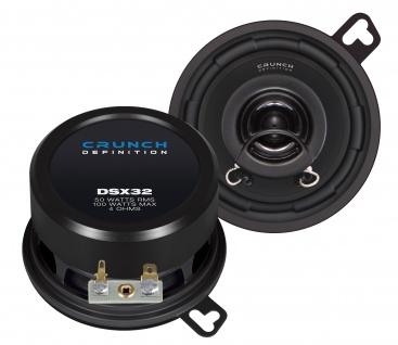 CRUNCH DEFINITION KOAX DSX32 Lautsprecher Auto Boxen Set 100 Watt PKW KFZ
