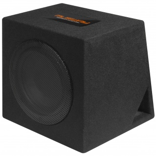 MUSWAY Single Bassreflex-Gehäusesub MR-108Q Subwoofer Bassbox 400W