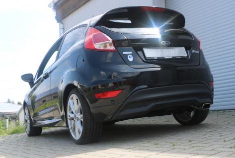 Fox Auspuff Sportauspuff Komplettanlage Ford Fiesta VII/ Fiesta VII Sport 1, 6l