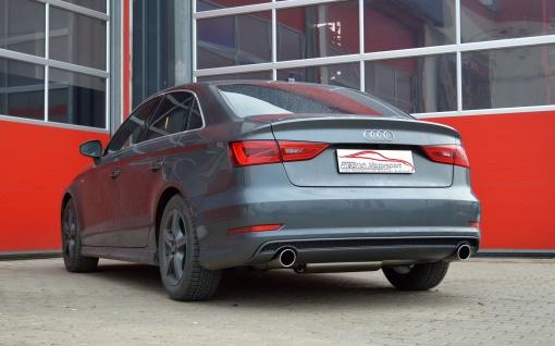 Friedrich Motorsport Gruppe A Sportauspuff Anlage Audi A3 8V Limo Frontantrieb