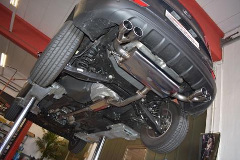 Friedrich Motorsport Gruppe A Duplex Sportauspuff Anlage KIA Sportage QL Bj. 16-