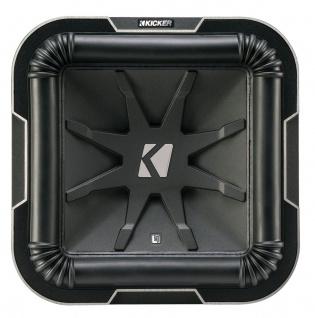 "KICKER 10"" Q-Class L7 Woofer L7102 25cm Auto Hifi Subwoofer Bassbox 1500 W MAX - Vorschau 3"