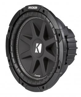 "KICKER 10"" Comp Subwoofer 43 C104 25cm Auto Hifi Subwoofer Bassbox 500 W MAX"