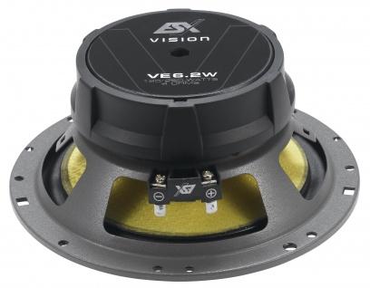 ESX VISION Kickbass Woofer-Set VE-6.2W MKII KickBass-Lautsprecher Paar