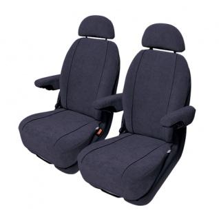 Van Sitzbezug Sitzbezüge Auto PKW Profi Schonbezug Peugeot 1007