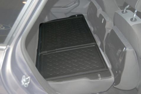 Carbox FORM Kofferraumwanne Zusatzteil Ford Focus Turnier Zusatzteil Rückbank