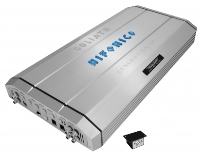 "HIFONICS "" GOLIATH"" Digital 1CH Amp GEN-X4 Mono-Block digital"