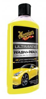 Meguiars Ultimate Wash & Wax Wachs Shampoo Autoshampoo G17716EU 473 ml
