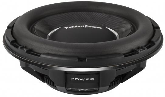 ROCKFORD FOSGATE POWER Subwoofer T1S2-10 25 cm Subwoofer Bassbox 1000 Watt
