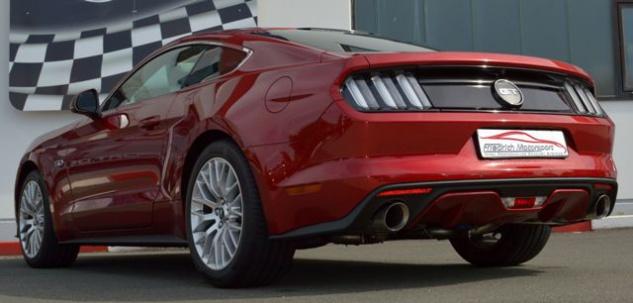 Friedrich Motorsport 76mm Duplex Auspuff Sportauspuff Anlage Ford Mustang Coupe