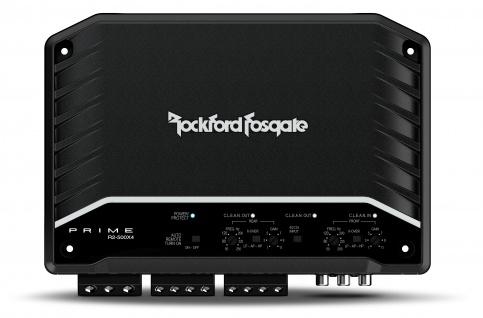 ROCKFORD FOSGATE PRIME 4CH Amp R2-500X4 4-Kanal Verstärker digital