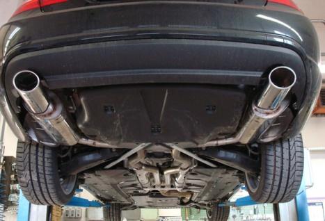 Fox Duplex Auspuff Sportauspuff Sportendschalldämpfer Mercedes E-Klasse C207 AMG