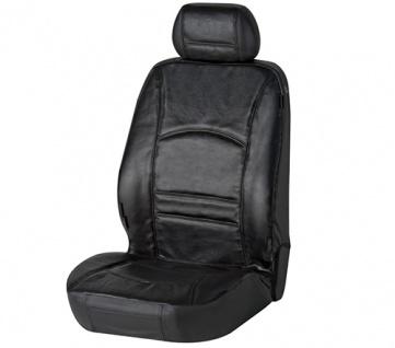 Sitzbezug Sitzbezüge Ranger aus echtem Leder schwarz SMART ForFour