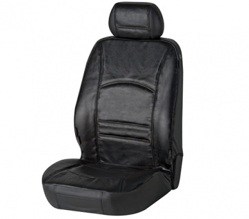 Sitzbezug Sitzbezüge Ranger aus echtem Leder schwarz VW Polo