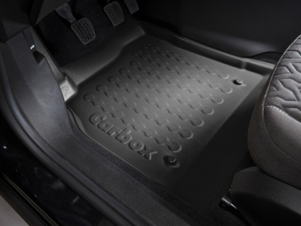 Carbox FLOOR Fußraumschale Gummimatte Fußmatte Subaru Justy vorne links