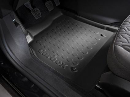 Carbox FLOOR Fußraumschale GummimatteJeep Compass Floor 09/16- vorne links