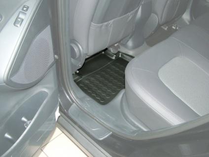 Carbox FLOOR Fußraumschale Gummimatte Fußmatte Hyundai iX35 hinten links