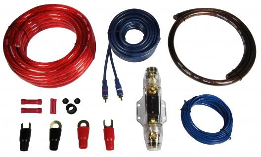 RENEGADE Premium Kabelset 35 mm² REN35KIT Kabel Set für Endstufe Verstärker