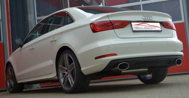 Friedrich Motorsport Gruppe A Duplex Auspuff Sportauspuff Anlage Audi A3 8V