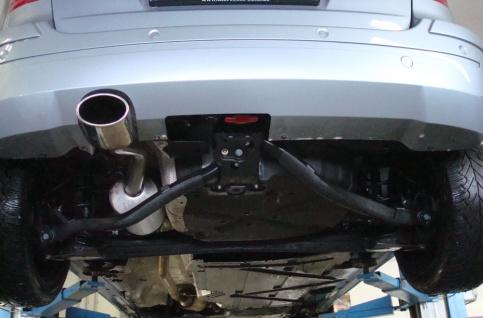 Fox Auspuff Sportauspuff Endschalldämpfer Mercedes B-Klasse 245 2, 0l D 103kW - Vorschau 3