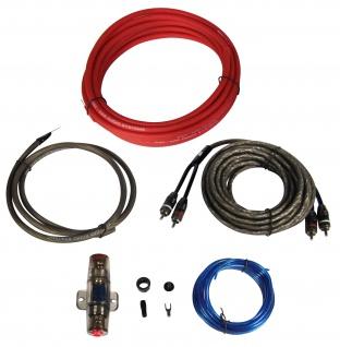 ESX SX10WK 10mm² Kabelset 10mm Stromkabel Kabelkit 12V Auto Hifi Anschlusskit