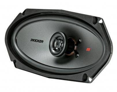 "KICKER 4x10"" Koax-LS KSC410 2-Wege Koax Lautsprecher Boxen Auto KFZ PKW Paar"