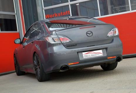 Friedrich Motorsport Duplex Sportauspuff Mazda 6 (GH) Limousine / Sport