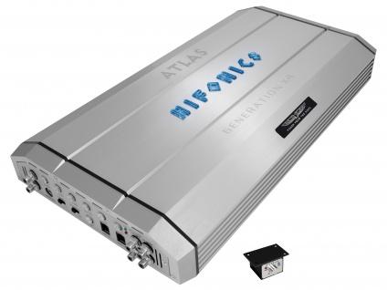 """HIFONICS Monoblock Endstufe Verstärker """" ATLAS"""" GEN-X4 Bass Amp 1750 Watt"""