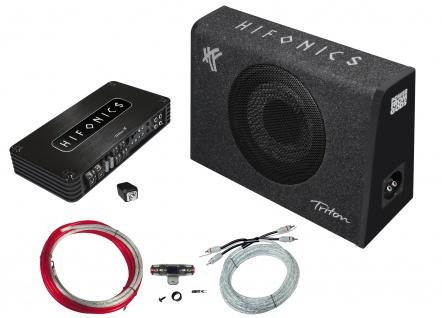 HIFONICS Watt Auto Basspack Anlage Car PKW KFZ Hifi Bass Komplett Set TBP800.4