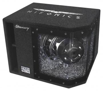 HIFONICS MR10BP Bandpass Subwoofer 400/800 Watt RMS/MAX Endstufe Basskiste PKW