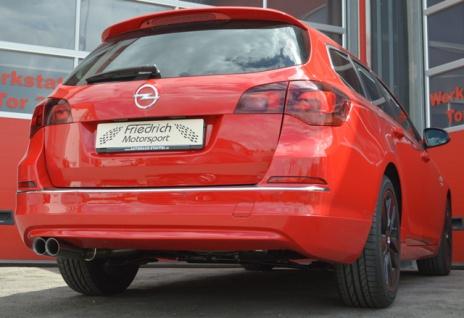 Friedrich Motorsport Gruppe A Auspuff Sportauspuff Opel Astra J 1.4l 74kW / 1.6l 85kW Bj.10-