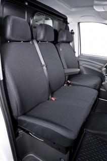 Schonbezug Sitzbezug Sitzbezüge Mercedes Viano - Bj. ab 2003