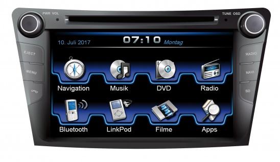 ESX Naviceiver VN710-HY-I40-DAB Hyundai i40 ab 2011 Bluetooth Navi DVD CD