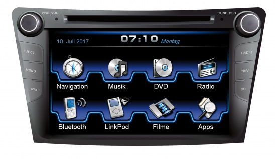 ESX Naviceiver VN710-HY-I40 Hyundai i40 ab 2011 DVD Bluetooth Navi Multimedia