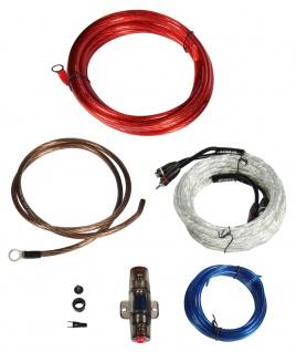 HIFONICS Premium Kabelset 10 mm² HF10WK Kabel Set für Endstufe Verstärker