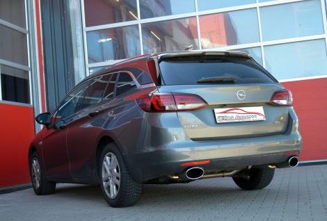 Friedrich Motorsport Duplex Sportauspuff Opel Astra K Sports Tourer 15-