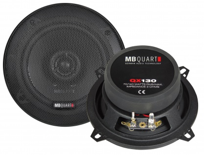 MB QUART Koax 13 cm QX-130 Koax Auto PKW Car Hifi Lautsprecher System Paar - Vorschau 2