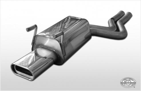 Fox Auspuff Sportauspuff Endschalldämpfer Mercedes S-Klasse W140/ C140 5, 0l 6, 0l