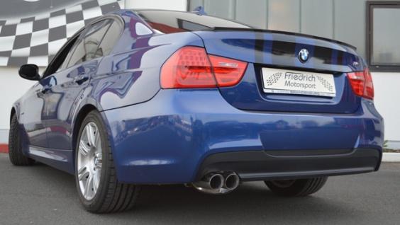 Friedrich Motorsport 70mm Auspuff Sportauspuff BMW E90/E91 Bj. 2005-2012 - Vorschau 2