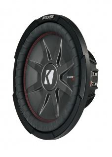"KICKER 12"" Woofer CompRT122 30cm Auto Car Hifi Subwoofer Bassbox 1000 Watt MAX"