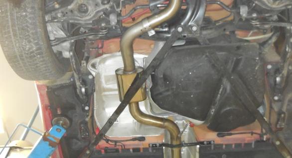 Fox Mittelschalldämpfer Auspuff Sportauspuff Audi TT FV3 Frontantrieb/ 2 wheels