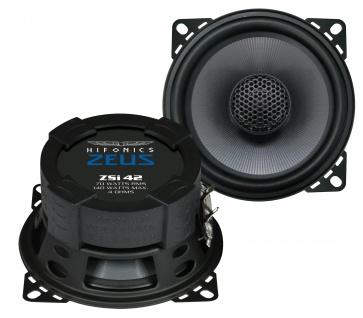 HIFONICS ZEUS Koax Lautsprecher Auto Boxen Set 10 cm ZSi-42 120 Watt PKW KFZ