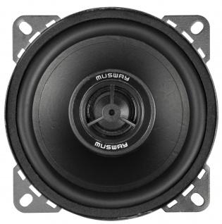MUSWAY KOAX 10 cm MS-42 System Auto Car PKW Hifi Boxen Lautsprecher Paar - Vorschau 2