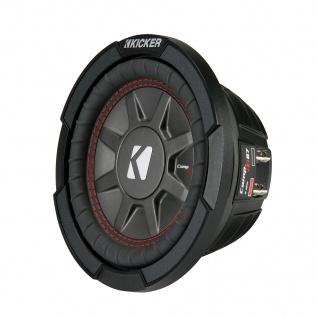 "KICKER 6, 5"" Woofer CompRT672 16, 5cm Auto PKW Hifi Subwoofer Bassbox 300 Watt MAX"