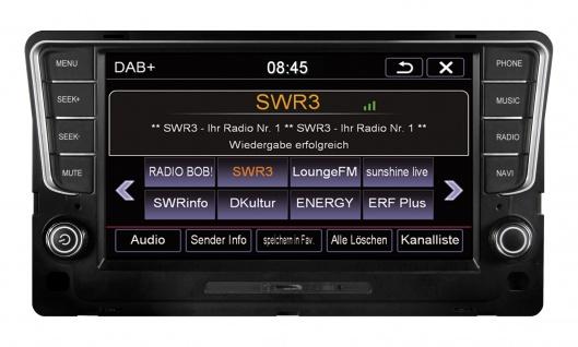 ESX Naviceiver VN810-VW-G7-DAB VW Golf 7 2012-2016 DAB+ Tuner Navi DVD CD