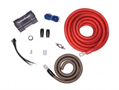 ROCKFORD FOSGATE 1/0 AWG RFK1 High End Kabelkit 55 mm² für zwei Verstärker