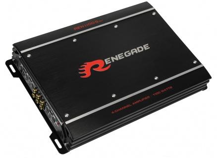 RENEGADE 4CH AMP REN1100S Mk3 4-Kanal Verstärker Endstufe KFZ Auto PKW