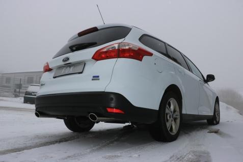 Fox Duplex Auspuff Sportauspuff Ford Focus 3 Ecoboost Turnier Kombi 1, 0l 74/92kW