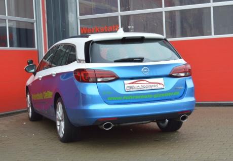 Friedrich Motorsport Gruppe A Duplex Sportauspuff Anlage Opel Astra K Sports T.