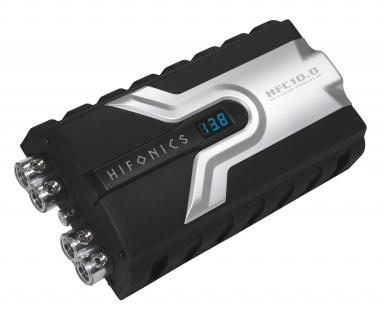 HIFONICS Powercap Kondensator 10 Farad 10F Cap Hybrid Pufferelko KFZ 12V HFC10.0